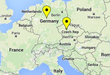 Our addresses in Europe (for parcel forwarding and mail receiving)